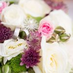 Love the color scheme of this bridal bouquet brautstrau bridalbouquethellip