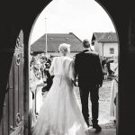 Marching out of the church You did it youre married!hellip