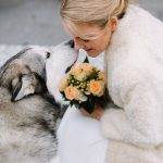 Wet nose congratulations! Right after the ceremony their beautiful familyhellip