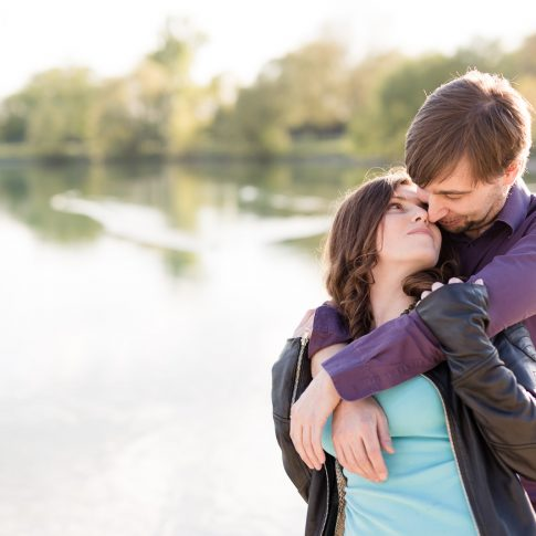 Engagement Shooting am Oedtsee in Traun, Christiane Eckl Photography